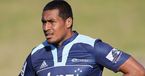 Filo Paulo Cardiff Blues pictured in action for Auckland Blues