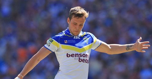 Gareth OBrien Warrington Wolves