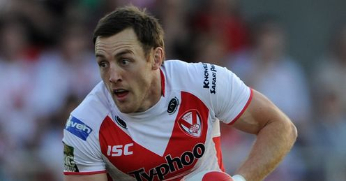 James Roby England and St Helens 2013