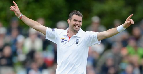 James Anderson: only Trueman (307), Willis (325) and Botham (383) have more Test wickets for England