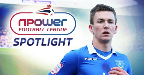 Jed Wallace: Making a big noise at Fratton Park