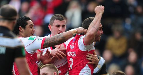 Josh Hodgson Hull FC v Hull KR Super League