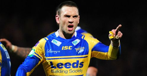 Kevin Sinfield Super LEague Leeds Rhinos