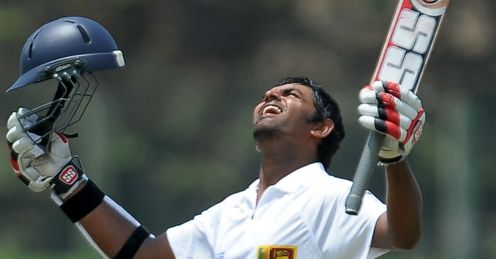Lahiru Thirimanne Sri Lanka celebrating century against Bangladesh