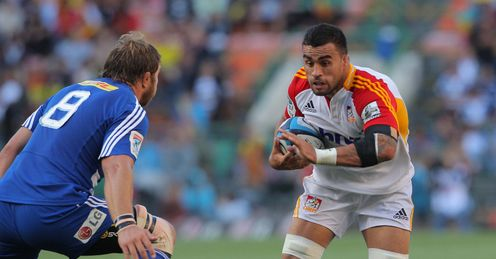 Liam Messam on a run for Chiefs
