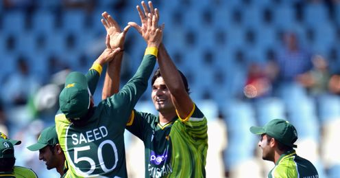 Mohammad Irfan Saeed Ajmal Pakistan South Africa