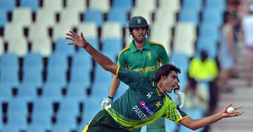 Mohammad Irfan South Africa v Pakistan