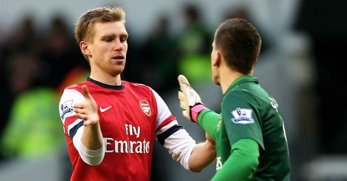 Tottenham v Arsenal: Per Mertesacker