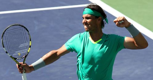 Rafael Nadal: won his 53rd ATP singles title, and third of the year