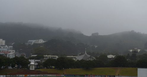 Rain New Zealand v England second Test