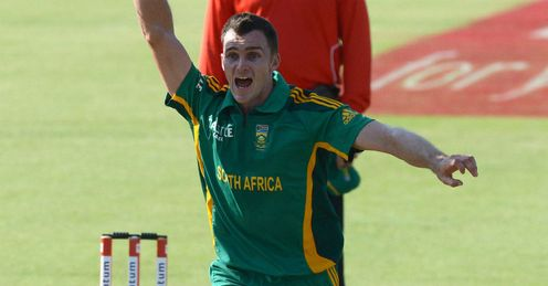 Ryan McLaren South Africa v Pakistan first ODI