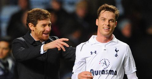 Andre Villas-Boas and Scott Parker are looking forward to an exciting future