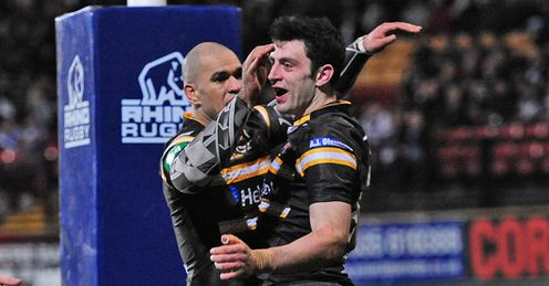 Jake Webster Kirk Dixon Castleford Tigers