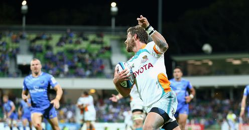 Willie le Roux Cheetahs v W Force 2013