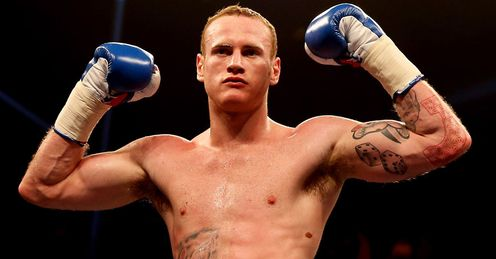 Groves: the super-middleweight Saint wants to take on Carl Froch... next!