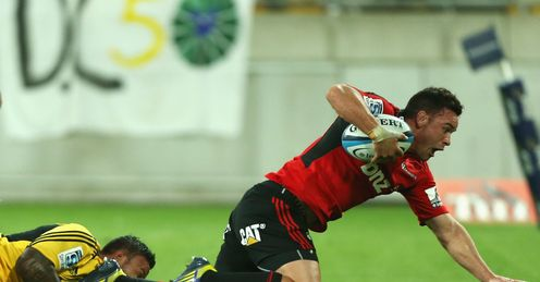 Ryan Cotty CRUSADERS Hurricanes Super Rugby