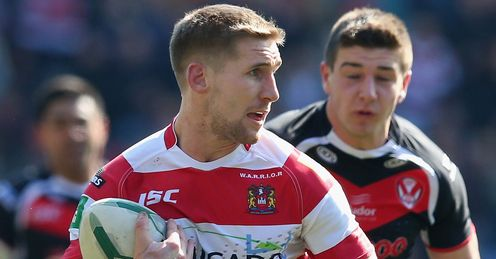 sam tomkins wigan warriors 2013