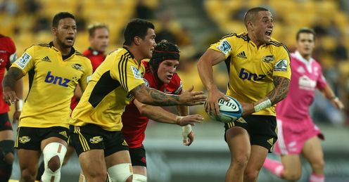 TJ Perenara Hurricanes CRUSADERS Super Rugby
