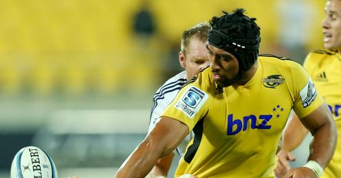Victor Vito Hurricanes Super Rugby