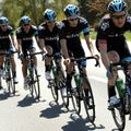 Team Sky rode a disciplined first stage to help Chris Froome stay in yellow at the Tour de Romandie