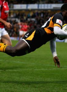 Christian Wade Wasps v London Welsh 2012