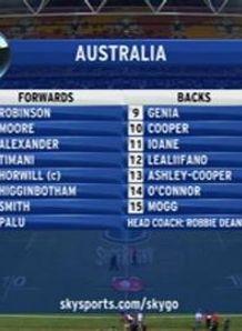 Lynagh's Aussie XV