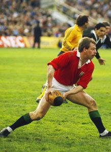 1983 - Roy Laidlaw of the British Lions in action during the fourth Test against New Zealand