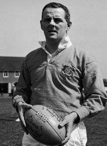 1968 - British Lions Rugby team captain Tom Kiernan