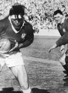 1966 - British Lions captain Mike Campbell-Lamerton during the first Test match against Australia in Sydney