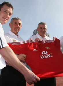 2009 - British and Irish Lions coaching staff comprising of Rob Howley Ian McGeechan Warren Gatland and Shaun Edwards