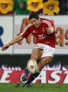 2009 - James Hook of the British and Irish Lions kicks a late match-winning penalty against Western Province