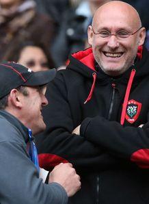 Saracens v Toulon: Bernard Laporte