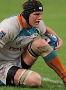 Cheetahs number eight Philip van der Walt