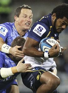 Henry Speight Brumbies v Force 2013