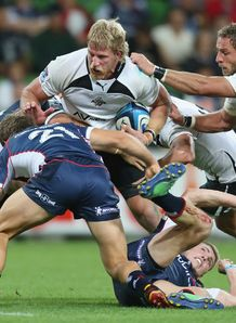 Jacques Engelbrecht on a run for the Kings