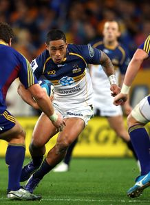 Joe Tomane Brumbies v Highlanders