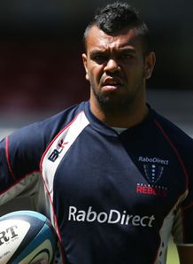 Kurtley Beale on training ground
