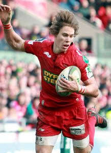 Liam Williams Scarlets 2012