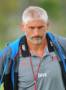 Super Rugby: Crusaders v Waratahs at AMI Stadium in Christchurch