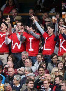 Saracens v Toulon: Jonny Wilkinson fans
