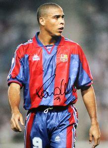 Ronaldo Signed Print