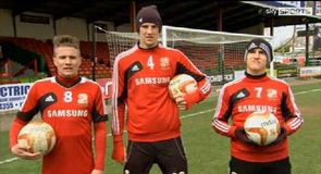 Two Footed Corner Challenge - Swindon