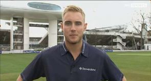 Broad looks ahead