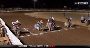 Kings' Lynn v Poole Pirates - Heat 14
