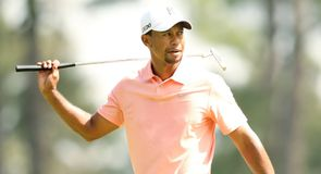 Tiger Woods looks like a man on a mission 