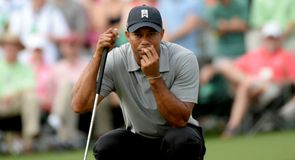 Tiger Woods was fully focused