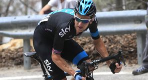 Sir Bradley Wiggins suffered misfortune on the final day of the Giro del Trentino