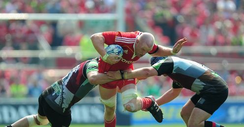 O'Connell: key player for Munster
