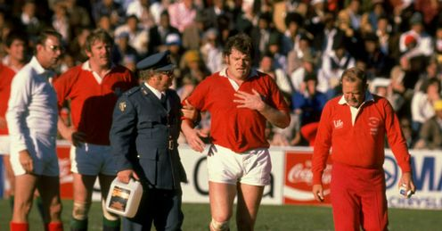 1980 - British Lions prop Fran Cottons tour of South Africa is brought to a premature end