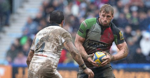 Chris Robshaw Harlequins v Bath Aviva Premiership Twickenham Stoop
